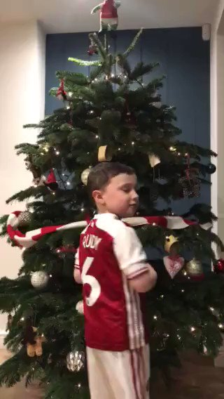 Our #ARSBUR Virtual Mascot is Rudy!   He has a very special Arsenal Christmas song to sing for you all 🎅  @Arsenal |  🔴