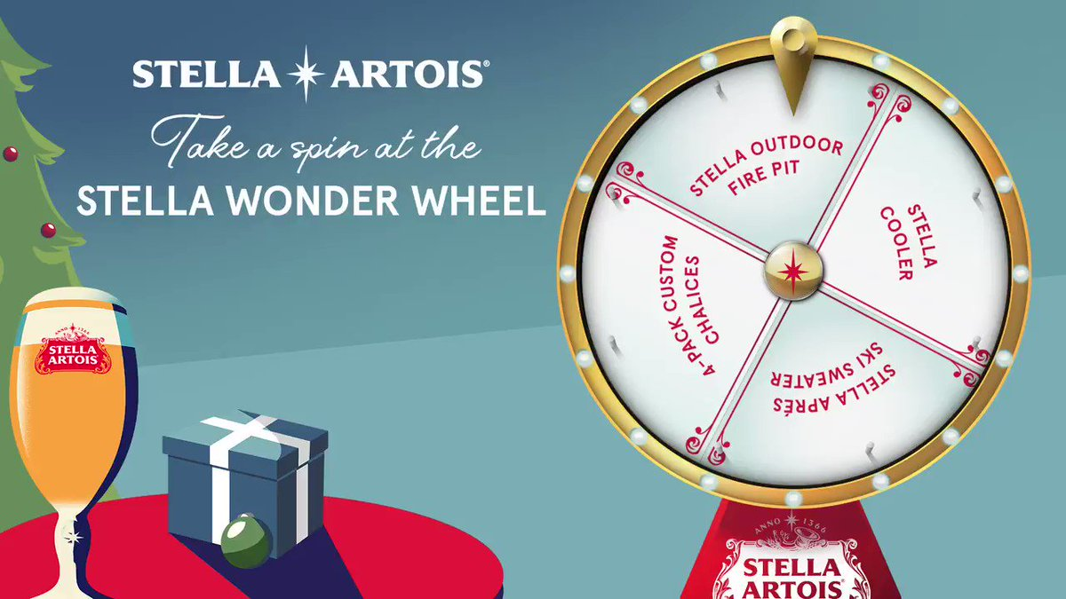 Step right up and spin the Stella Wonder Wheel!   Retweet to spin, and we might surprise you! #ShareAStella