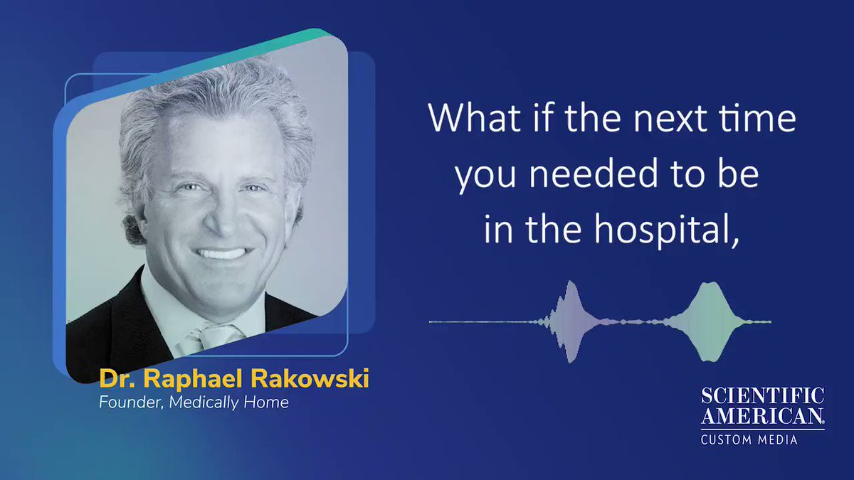 Is healing people from the comfort of their own homes the future of healthcare? Dr Raphael Rakowsi believes so, Listen him explain how bringing hospital level care to the home could be more cost effective. [Sponsored by @medically_home]