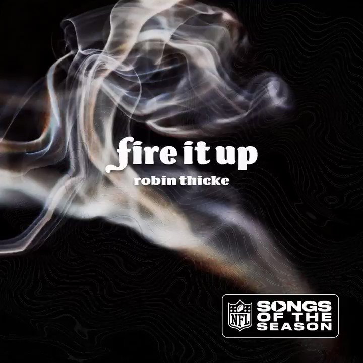 Partnering w/ the @NFL for their #SongsOfTheSeason with a new one #FireItUp 🔥 @InspireChange:  #InspireChange
