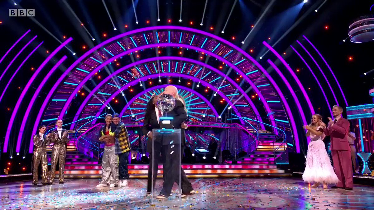 In a year like 2020, Bill and Oti's #Strictly win is so special for so many reasons. Huge congrats @BillBailey and to @OtiMabuse for your second Glitterball trophy in a row! 👏🤩 #StrictlyFinal