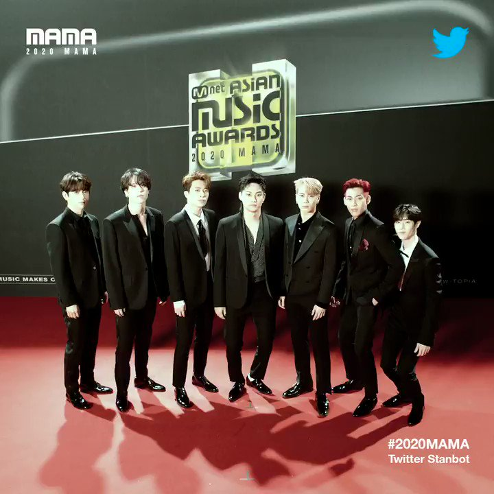 [#2020MAMA_Stanbot] Check #2020MAMA #Twitter #Stanbot Closer Look of #GOT7 @GOT7Official !
