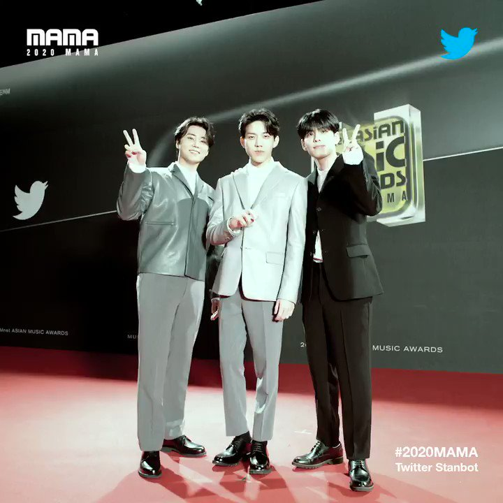 [#2020MAMA_Stanbot] Check #2020MAMA #Twitter #Stanbot Closer Look of #DAY6 @day6official !