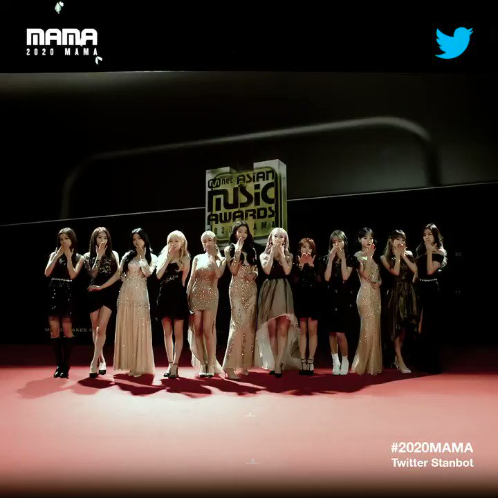 [#2020MAMA_Stanbot] Check #2020MAMA #Twitter #Stanbot Closer Look of #IZONE @official_izone !