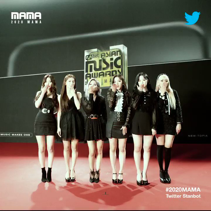 [#2020MAMA_Stanbot] Check #2020MAMA #Twitter #Stanbot Closer Look of #GIDLE @G_I_DLE !