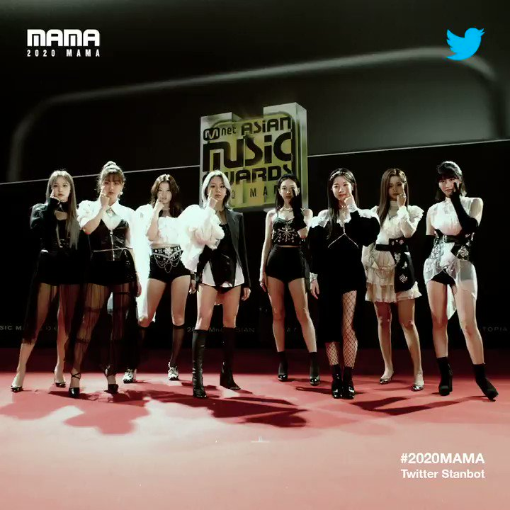 [#2020MAMA_Stanbot] Check #2020MAMA #Twitter #Stanbot Closer Look of #TWICE @JYPETWICE !