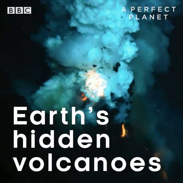 Replying to @BBCEarth: 80% of all volcanic eruptions occur underwater! 😲 #PerfectPlanet