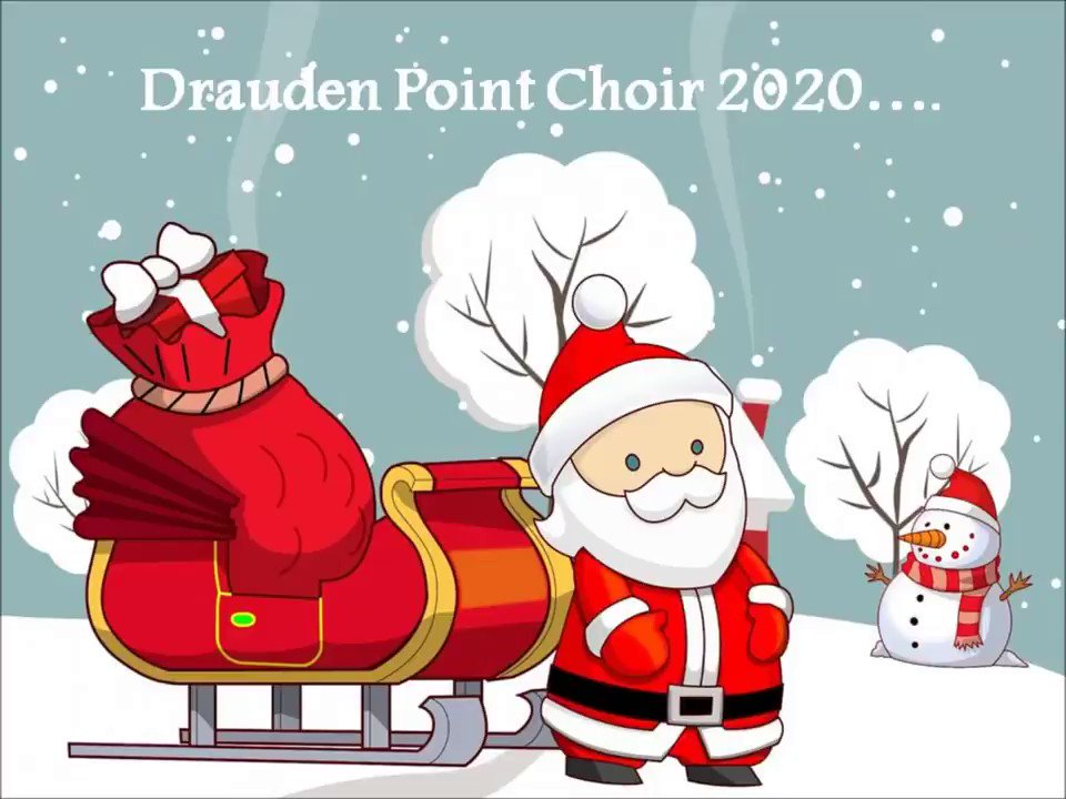 Image for the Tweet beginning: .@draudenpanthers choir members collaborated virtually