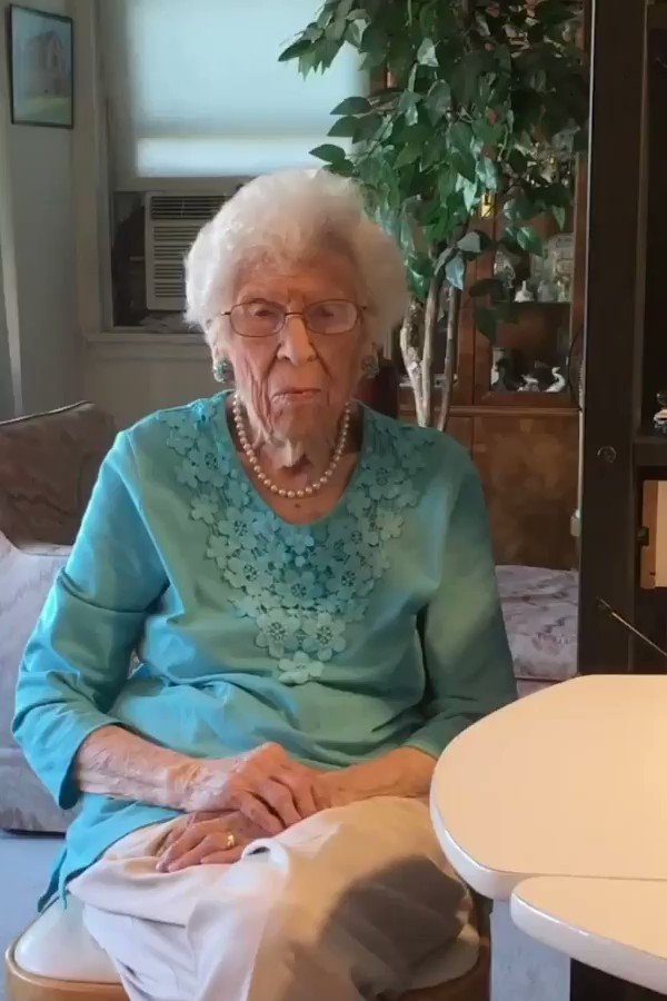 "Love this 👇 ❤️   Belle Weiss, who's 103-years-old and legally blind, found a ""best friend"" in Alexa. Read more ➡️"