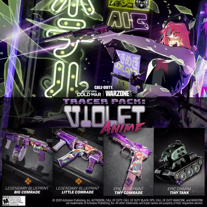 Call Of Duty On Twitter Violet Tendencies The Tracer Pack Violet Anime Bundle Is Available Now In Blackopscoldwar And Warzone In The Store Https T Co 1uks4vejkw Fold you so mufucking fast song: violet tendencies the tracer pack