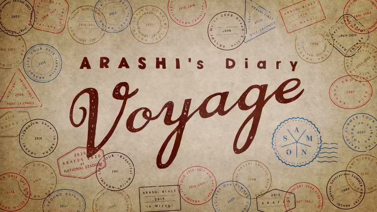 "Episodes 22 & 23 of ""ARASHI's Diary -Voyage-"" are now available!  Get a behind-the-scenes look at ""This is ARASHI LIVE"" ! Only on @netflix @netflixJP  #Netflix #嵐 #ARASHI"