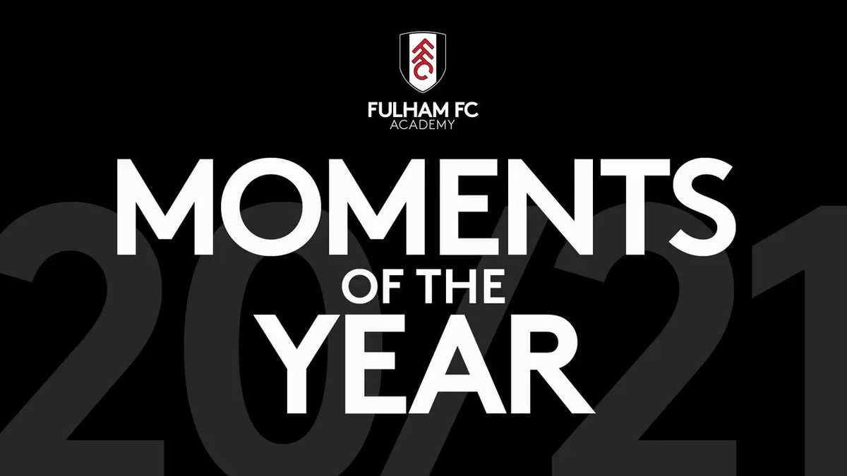 Replying to @FulhamFC: 𝗔𝗰𝗮𝗱𝗲𝗺𝘆 𝗺𝗼𝗺𝗲𝗻𝘁𝘀 𝗼𝗳 𝟮𝟬𝟮𝟬!  Some of the many highlights from our lads. 🎞️  #FFC