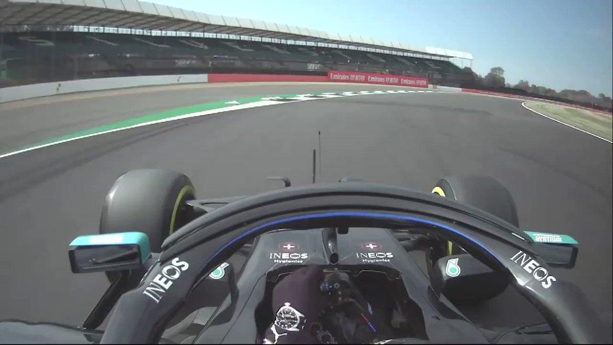 """😮 @ValtteriBottas conquista la pole a Silverstone, beffa #Hamilton per 0.063 e poi dice: """"Sono riuscito a dare il meglio di me"""" #F170 #SkyMotori #F1 #Formula1 https://t.co/Dgvnoq96hg"""