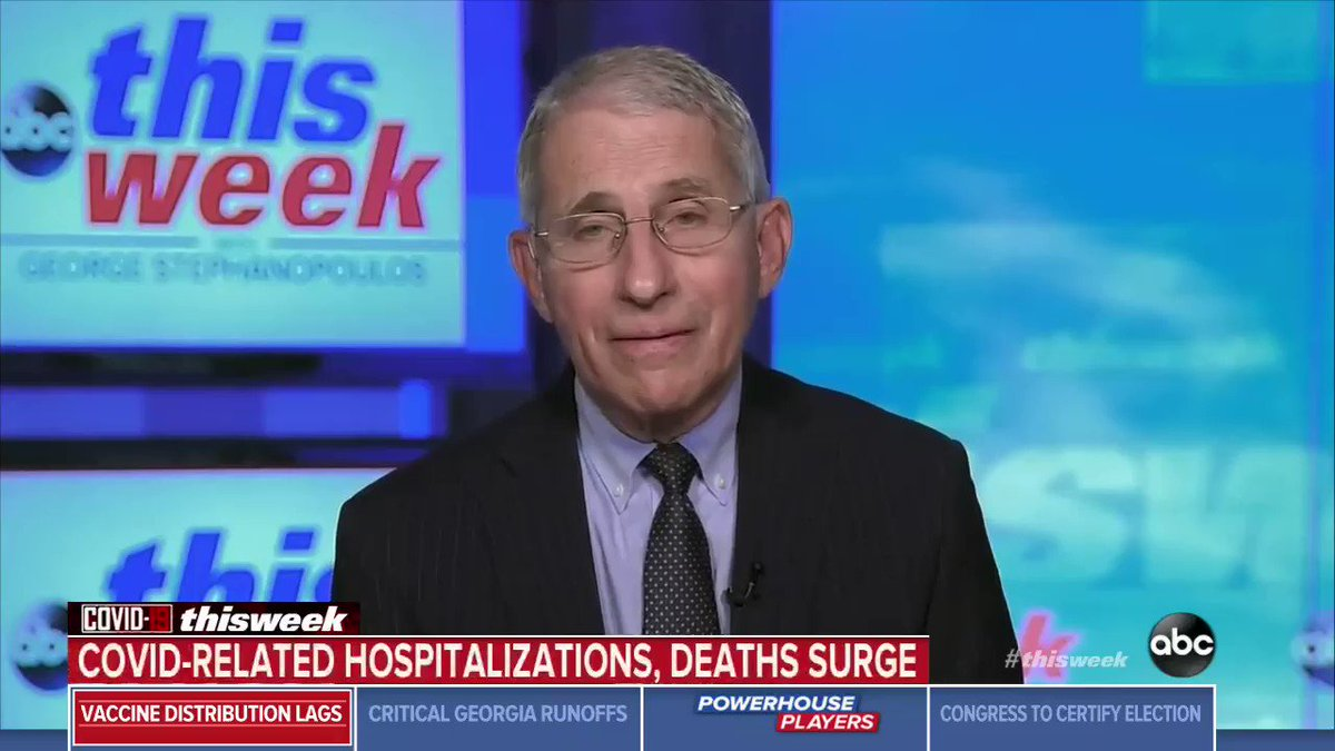 "NEW: Dr. Anthony Fauci responds to Pres. Trump's morning tweet on COVID-19 related deaths: ""The deaths are real deaths. All you need to do is go out into the trenches... that's real, that's not fake."""