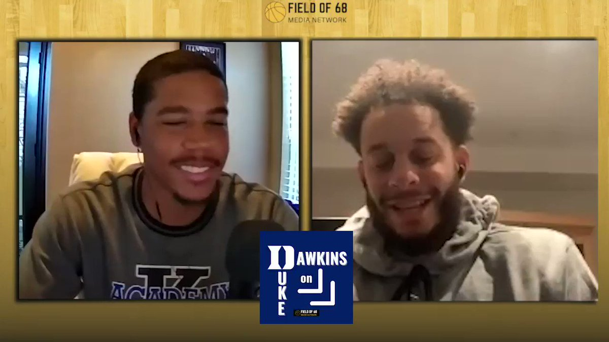 The first Duke vs. North Carolina experience hits different. Here is @sdotcurry on what that was like for him.  SUBSCRIBE to @dre_dawkins on @DukeMBB!  @Spotify  @ApplePodcasts