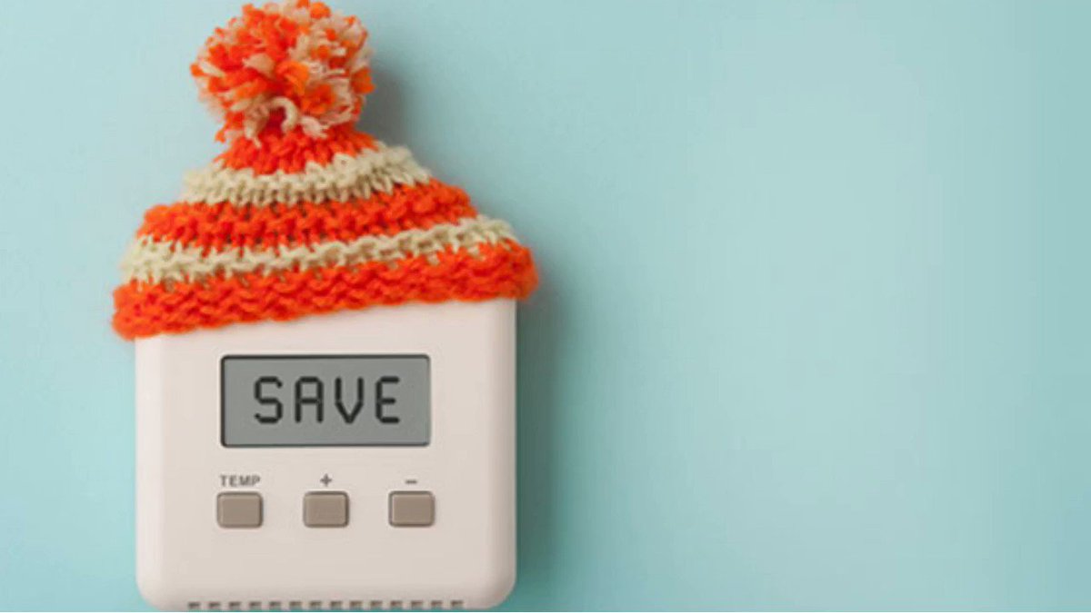 Stay warm and keep money in your pocket with these ways to cut down on your heating bill this winter. Get more heating hacks here: