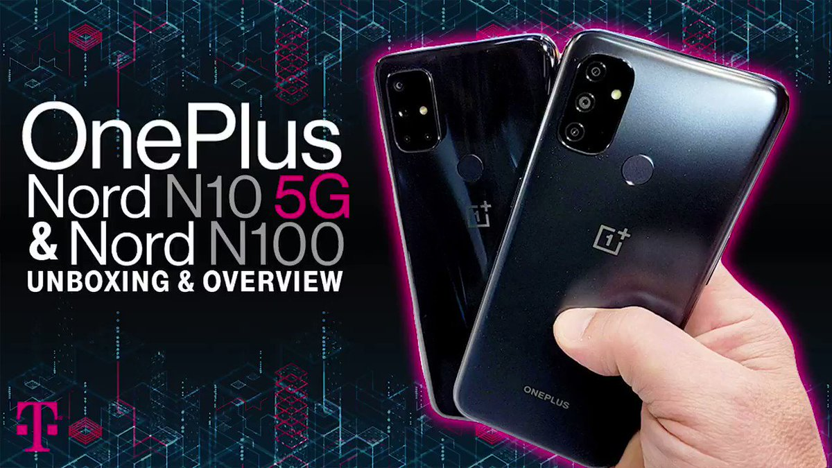 The new OnePlus #NordN105G & #NordN100 are coming to T-Mobile starting 1/15! If you're looking for a new smartphone at an affordable price, check 'em out!
