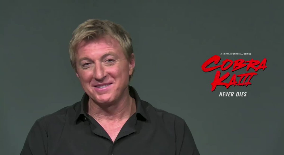 "He played the bad guy in the ""Karate Kid"" movie but William Zabka's Johnny Lawrence is now a fan favorite of the ""Cobra Kai"" series."