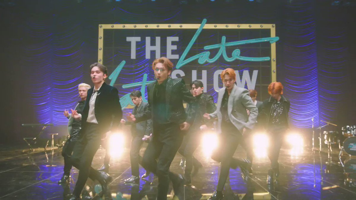 """Replying to @latelateshow: .@pledis_17's performance of """"Home;Run"""" was quite simply dazzling! #SEVENTEENxCORDEN"""