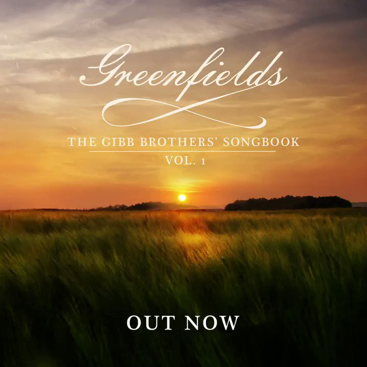 ".@gibbbarry's highly anticipated album, 'Greenfields', is out now 🌾 ! Featuring star-studded collaborations in country music. Re-visit #BeeGees classics like ""Run to Me,"" ""Too Much Heaven,"" ""To Love Somebody"" and more!"
