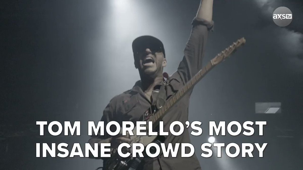 Only @tmorello would have a crowd so insane it could be compared to a LITERAL earthquake on the Richter scale.   Watch his full #Trunkfest with @EddieTrunk: