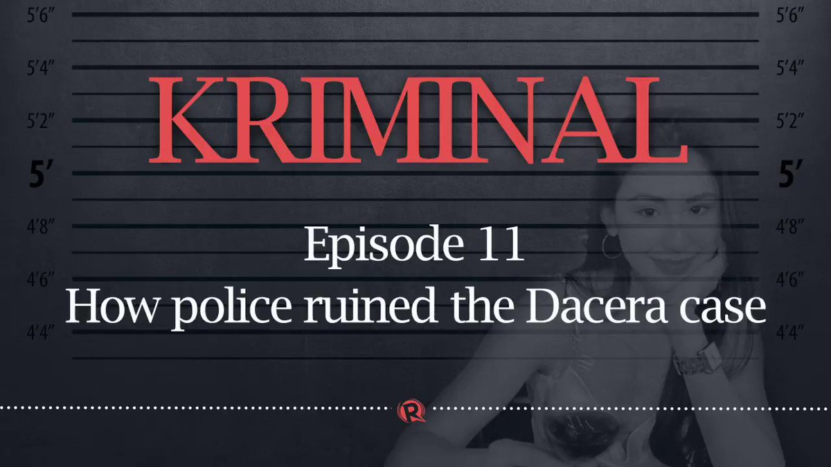 English Police Video Tweets – Was Christine Angelica Dacera a victim of rape homicide?  In this podcast, we di…