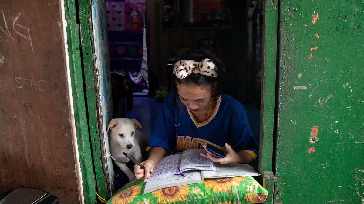 ICYMI: From @reuterspictures - Meet the Philippine students determined to study as school gates stay locked and classes go online