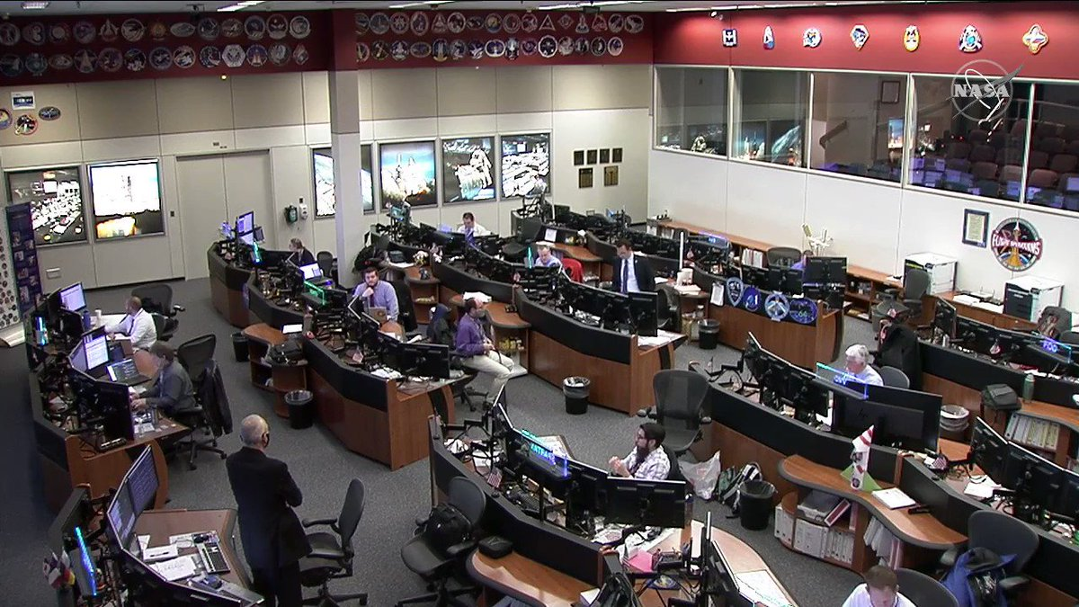 UPDATE: Cargo Dragon's departure is now scheduled for approximately 10am ET due to weather off the splashdown site, east of Florida. @AstroVicGlover is monitoring operations from the @Space_Station.