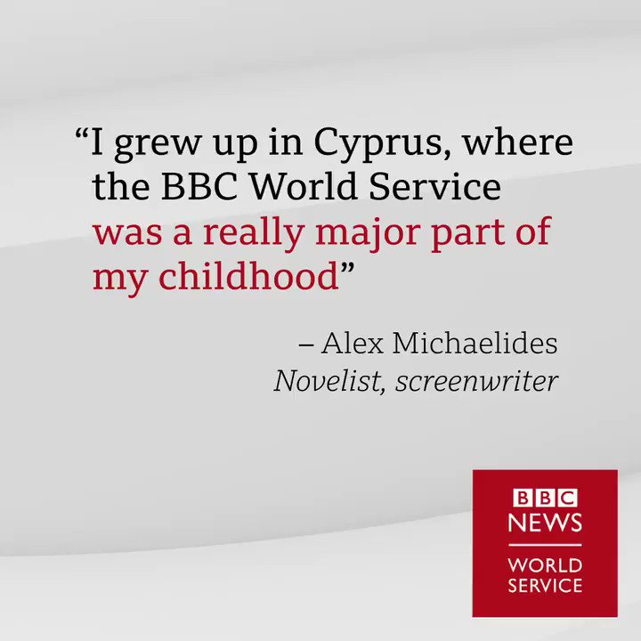 A lovely image @AlexMichaelides, we love hearing how we've been part of people's lives #BBCWorldService