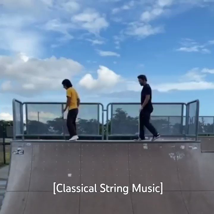 Introducing the Four Wheel Waltz, an elegant version of skateboarding created by Fidel James Gonzalez. 🧐🛹→ https://t.co/zAyfBI66nt https://t.co/6eP5VT1FJ2