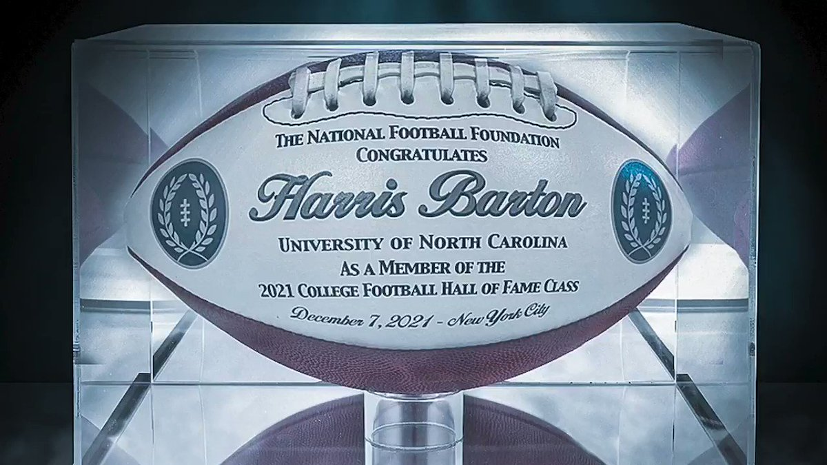 Replying to @TarHeelFootball: In the words of Carolina's newest Hall of Famer, Harris Barton.  #CarolinaFootball 🏈 #BeTheOne