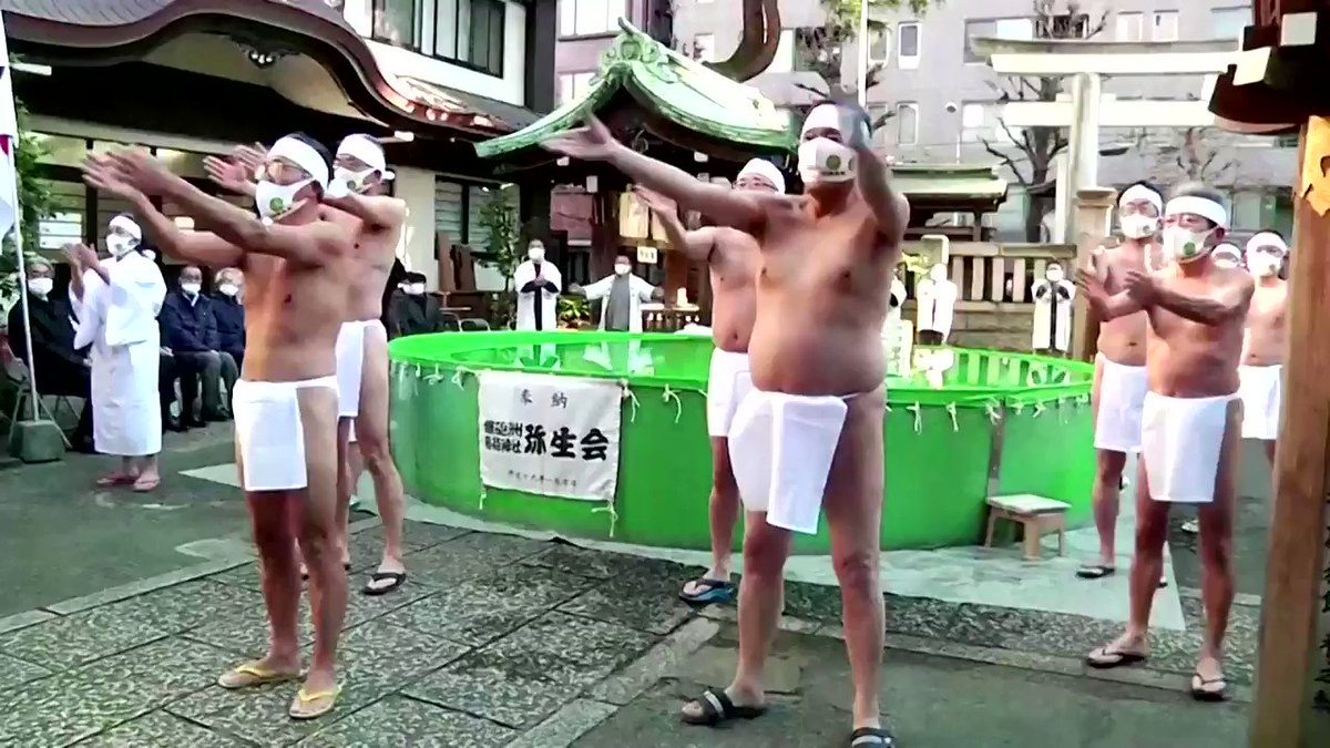 ICYMI: These pilgrims perform a ritual that involves plunging into an ice bath to purify the soul