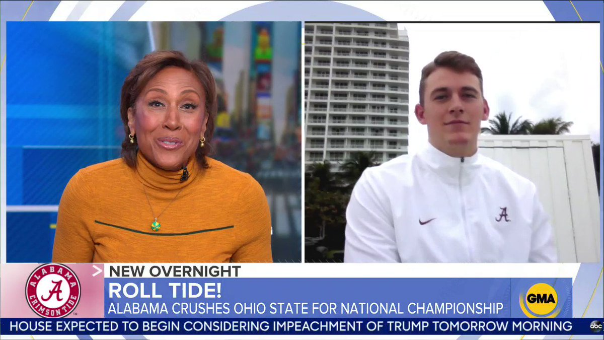 @GMA's photo on Roll Tide