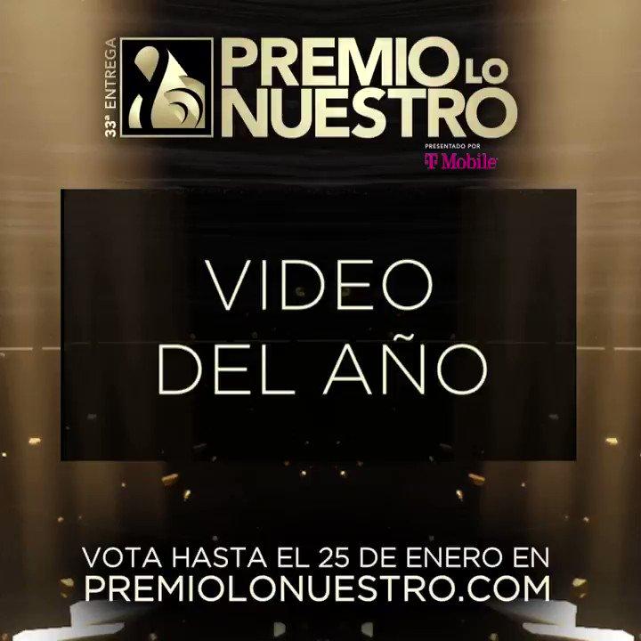 .@franciscaNBL presenta los nominados a #PremioLoNuestro 'Video Del Año' 🎵 Boogaloo Supreme 🎵 Cuando Estés Aquí 🎵 Después De Todo 🎵 En Cantos  🎵 For Sale 🎵 Girasoles 🎵 Mala Vida 🎵 Pecador 🎵 Qué Lástima 🎵 TKN ¡Vota hasta el 25 de enero! #NominacionesPLN