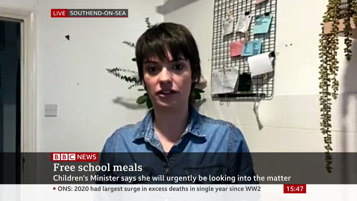 """""""It's once again people who have got absolutely no idea about the realities that people face in Britain, making decisions for them,"""" says campaigner & chef Jack Monroe on free school meals food parcels  The children's minister is investigating """"urgently"""""""