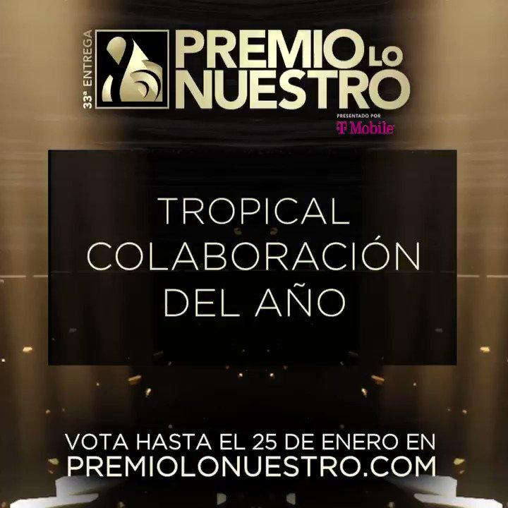.@PAMELASILVA presenta los nominados a #PremioLoNuestro 'Colaboración Del Año- Tropical' 🎵Boogaloo Supreme 🎵Canción Para Rubén 🎵Cartagena 🎵Imaginarme Sin Ti 🎵La Familia 🎵Mi Corazon Es Tuyo 🎵Nuestro Amor 🎵Pa' Lante Y Pa' Tras 🎵Perriando(La Murga Remix) 🎵Vallenato Apretao