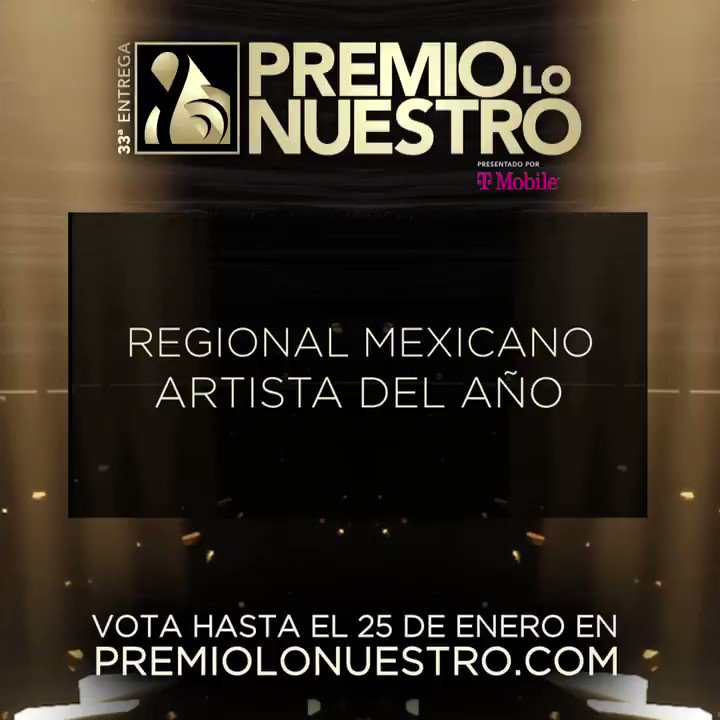 .@BuenoMalaFeo presenta los nominados a #PremioLoNuestro 'Artista Del Año- Regional Mexicano' ✨ @alexoficial ✨ @carinleonofi ✨ @Chiquis626 ✨ @elnodal ✨ #ElFantasma ✨ @gerardoortiznet ✨ @JossFavela ✨ @leninramirezmus ✨ @NatanaelCanoo ✨ @netobernall #NominacionesPLN
