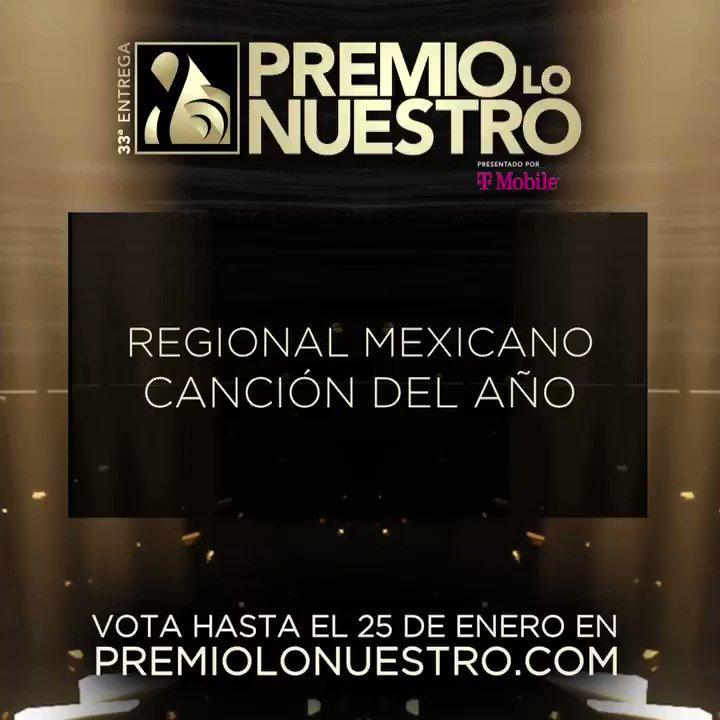 .@raulbrindis presenta los nominados a #PremioLoNuestro 'Canción Del Año- Regional Mexicano' 🎵Amor Tumbado 🎵Caballero 🎵Dormida 🎵En Eso No Quedamos 🎵Escondidos 🎵Otra Borrachera 🎵Se Me Olvidó 🎵Si Quieres 🎵Sólo Tú 🎵Yo Ya No Vuelvo Contigo (En Vivo) #NominacionesPLN