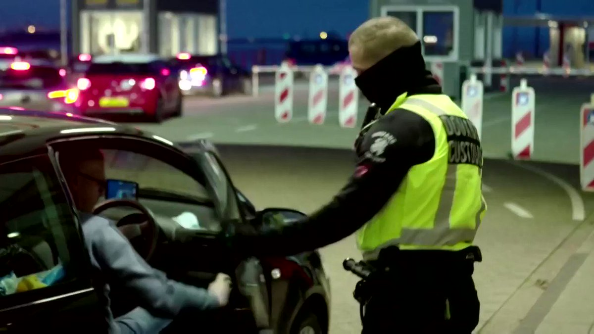 WATCH: Dutch officials have been seizing forbidden foods including meat, dairy, fruit and veg from bemused British drivers at the border