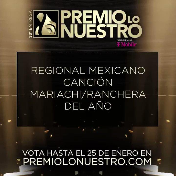 .@alantacher presenta los nominados a #PremioLoNuestro 'Canción Mariachi/Ranchera Del Año- Regional Mexicano' 🎵Caballero- @alexoficial 🎵Claro Y Obvio- @JossFavela 🎵Dile -@Jaryoficial 🎵Se Me Olvidó- @elnodal 🎵Si Quieres- @netobernall & @carolinaross #NominacionesPLN