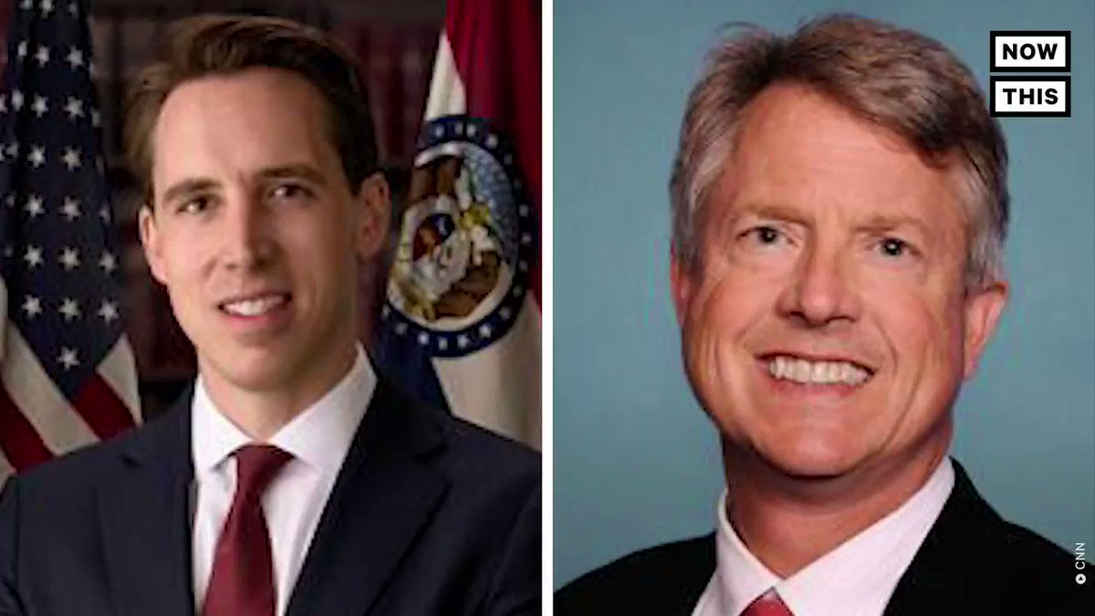 """This is truly a """"Hallmark Moment""""!  Hallmark Cards is asking Republican Sens. Josh Hawley and Roger Marshall to refund political donations after their role in challenging the legitimacy of Biden's electoral victory"""