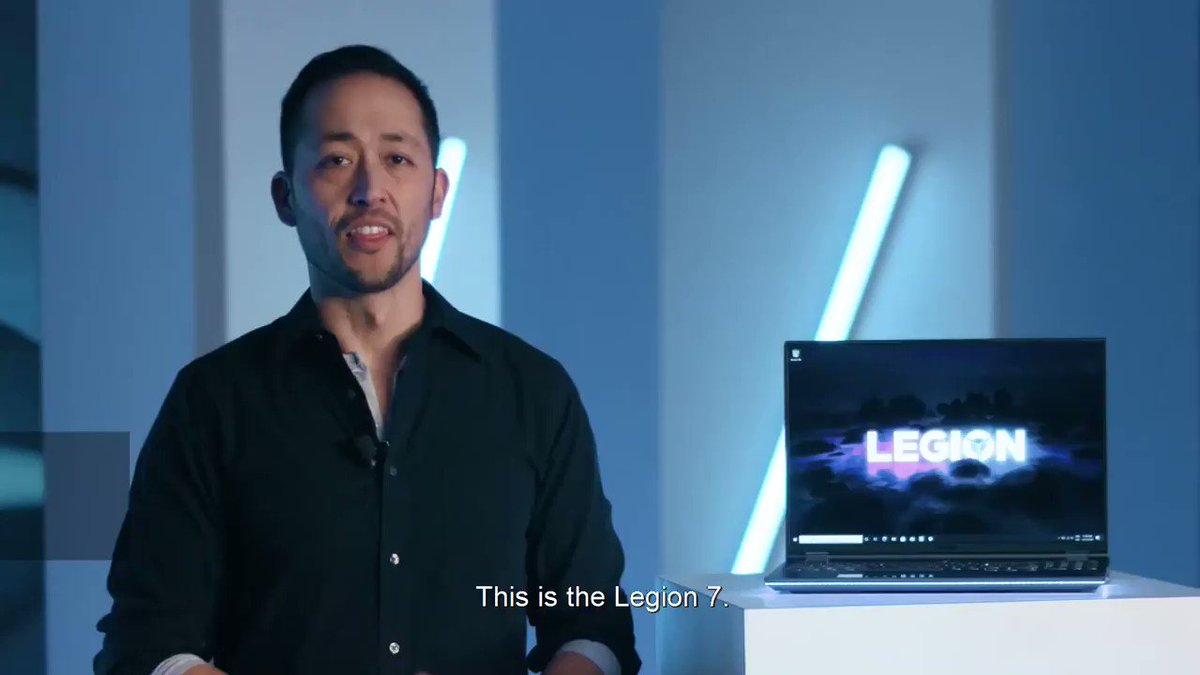 """Welcome to the next generation of gaming on the new Lenovo Legion 7 – the world's first laptop with a 16"""" QHD gaming display. Coming April 2021. #LenovoCES #CES2021   Learn more:"""