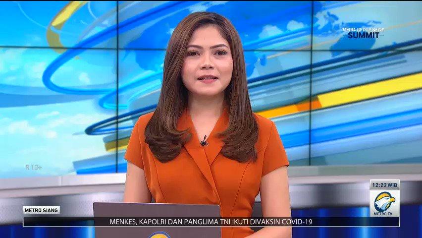#MetroSiang | Indonesia Mulai Vaksinasi Covid-19  #factcheckmetrotv