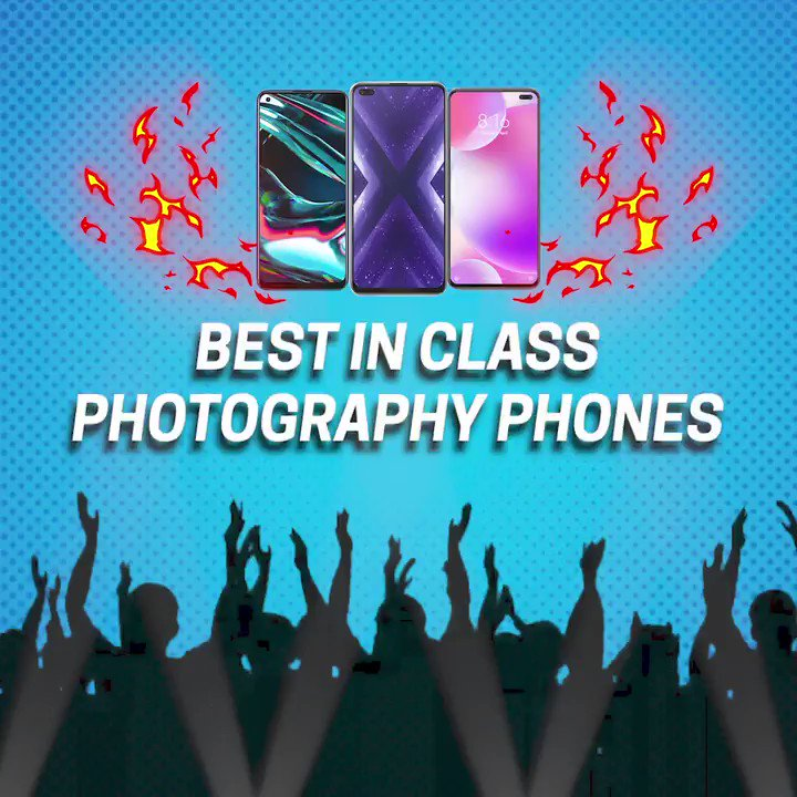Want the perfect pictures from your night out? The best in class photography phones have got your back! Get your hands on the realme x3, realme 7pro, and POCO X3 at exclusive prices only on Flipkart.