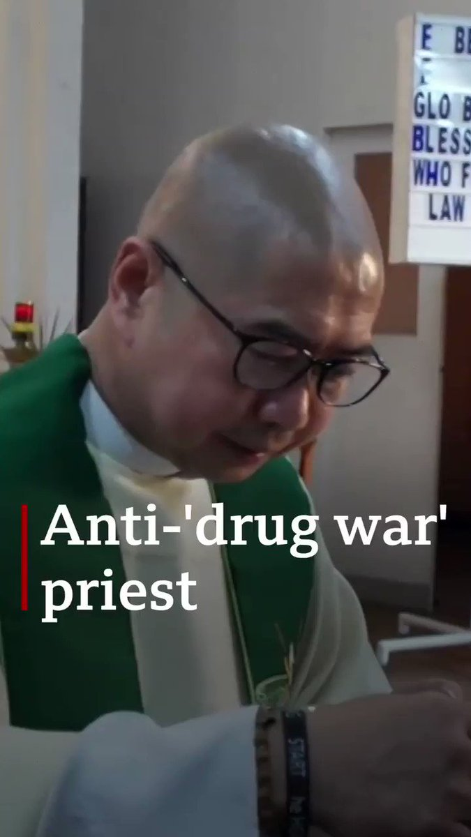 """Father Flavie Villanueva is a Catholic priest in the Philippines who's actively against President Rodrigo Duterte's """"war on drugs""""  He is set to stand trial on charges of """"conspiracy to commit sedition"""" over an alleged plot to oust the president"""