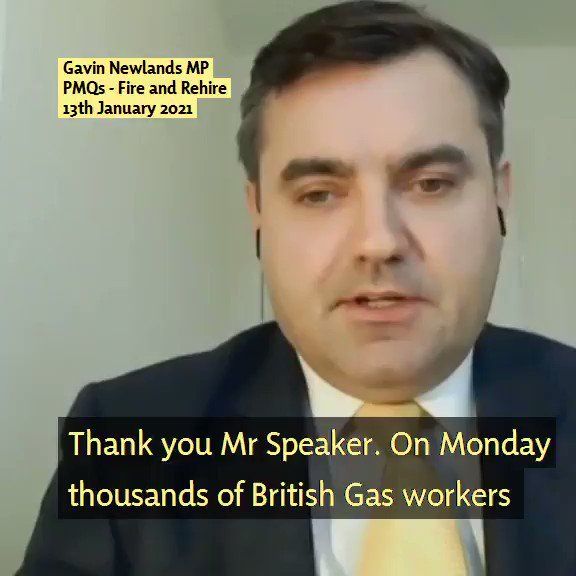 The #BritishGas strike has again put the spotlight on #fireandrehire policies. Telling staff to take massive cuts in T's & C's or face the dole queue is the unacceptable face of capitalism. My Bill would make it illegal. The PM must act now  #StopTheBritishGasFire #BritishAirways https://t.co/JR8XzL8hQk