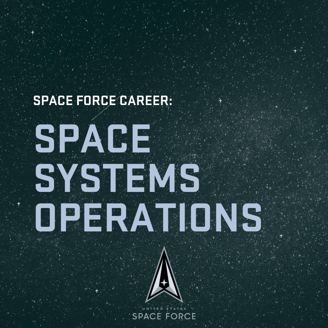 Space Force #career: Space Systems Operations. Operating the largest space program in the world takes skill, and it's up to these experts to keep the @SpaceForceDoD in orbit.