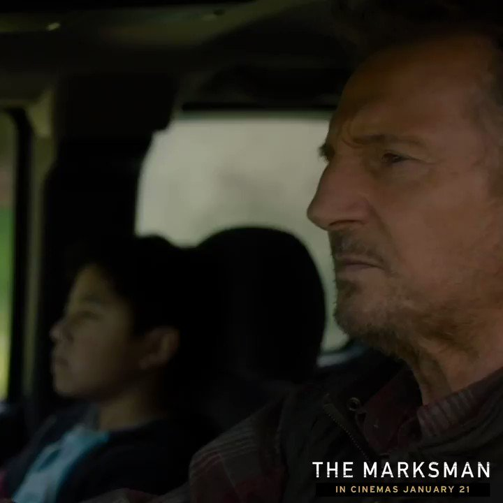 It's Neeson Season. #TheMarksman opens in Australian cinemas on January 21.