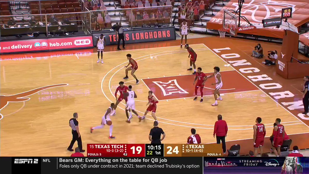 @LonghornNetwork's photo on Jericho Sims