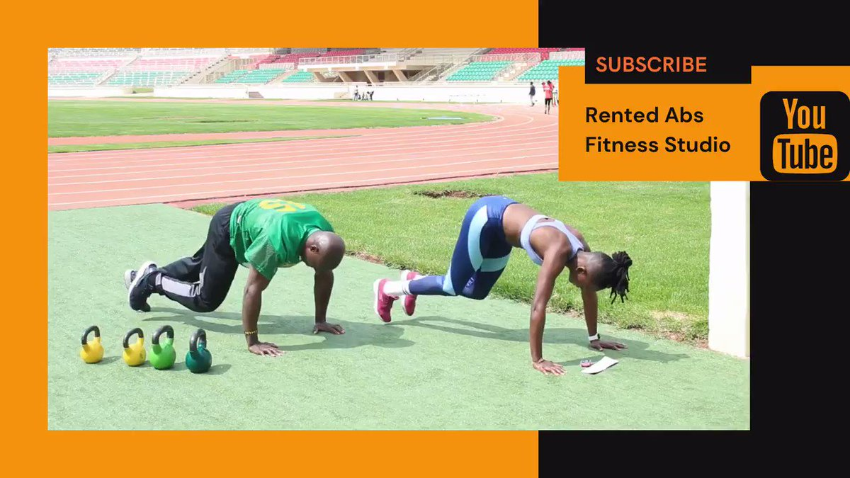 Suprise Sundays!!👀 Get on your knees RN and try this Rented Abs Sunday challenge, 50 Reps quicK and like this post once you have completed🙌🏿 #sundaychallenge #nairobi #gym #fitness #goals